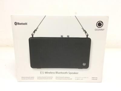 GGMM E5-200 Bluetooth ポータブル スピーカー 音響機材 オーディオ機器