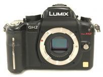 Panasonic パナソニック LUMIX ルミックス DMC-GH2 ブラック デジタルカメラ デジカメ ミラーレス 一眼 レンズキットの買取