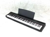 YAMAHA ヤマハ 電子ピアノ P-125B 88鍵 ペダル付 ハンマー鍵盤 ブラック ピアノタッチの買取