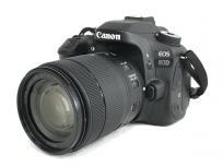 Canon キヤノン 一眼レフ EOS 80D ダブル ズーム キット カメラ レンズ 18-55mm 55-250mm EOS80D-WZOOMKITの買取