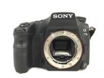 SONY α77II ILCA-77M2 一眼レフ カメラ ボディ ソニーの買取