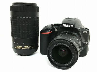 Nikon ニコン D5600 ダブルズームキット 18-55mm 70-300mm 一眼レフ カメラ