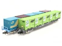 TOMIX 92965 他 JR コキ 107形 貨車 鉄道コンテナ輸送 50年 記念カラー 19D形コンテナ付 10両 セット 鉄道模型 Nゲージの買取