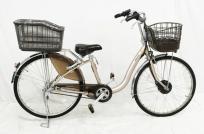 BRIDGESTONE ブリヂストン フロンティア 26型 F6AB27 プレシャスベージュ 電動アシスト 自転車の買取