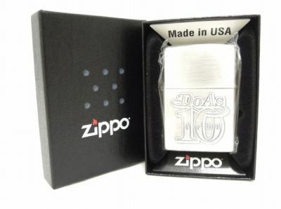 ZIPPO DO AS INFINITY 10th ETERNAL FRAME 2009年製 オイルライター ジッポー