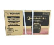 ZOJIRUSHI NP-ZH10-TD 象印 極め炊き 圧力IH炊飯ジャー 1.0L 5.5合炊き