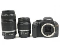 Canon キャノン EOS Kiss X4 KISSX4-WKIT ダブルズームキット カメラ デジタル一眼 ブラックの買取