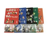 GrapeSEED グレープシード Unit1~5 絵本 CD DVDセット 知育教材 英語教材