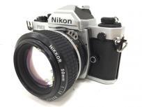 Nikon FM2 NIKKOR 50mm 1:1.8 フィルム カメラ ボディ レンズ セット ニコンの買取