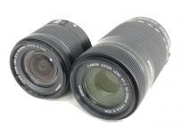 Canon EF-S55-250mm F4-5.6 IS STM EF-S18-55mm F4-5.6 IS STM カメラ レンズ 2点セットの買取
