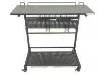 Bauhutte BHT-800S-BK 昇降式ロングサイドテーブル スリム バウヒュッテ 家具 インテリア