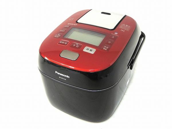 Panasonic パナソニック スチーム&可変圧力IHジャー炊飯器 SR-SPX106-RK ルージュブラック