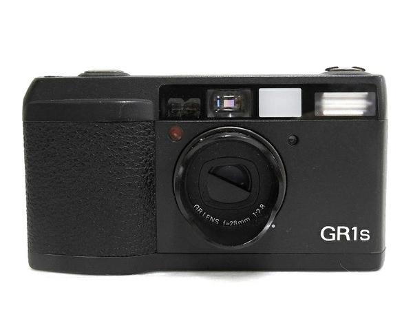RICOH リコーイメージング GR1s フィルムカメラ ボディ ブラック