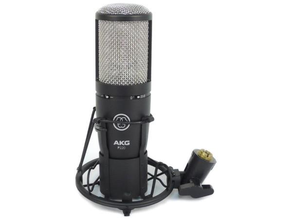 AKG アーカーゲー P220 Project Studio LINE コンデンサー マイクロフォン レコーディング用 マイク
