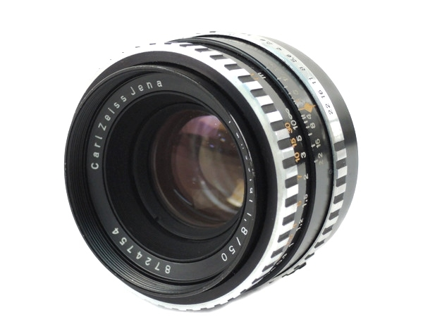 carlzeiss jena pancolar 1.8/50 レンズ カメラ