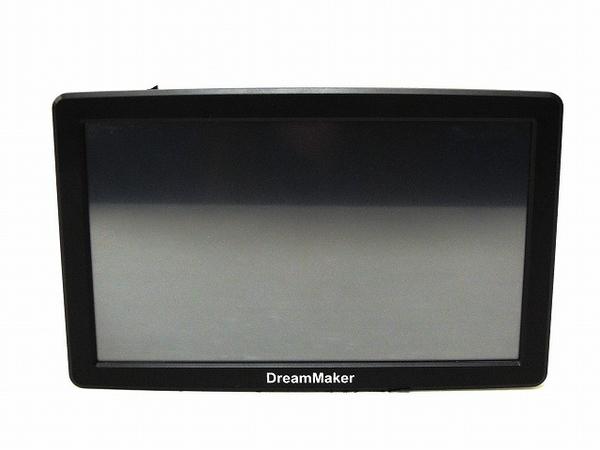 DreamMaker PN903A フルセグ内蔵 9型 タッチパネル ポータブル ナビ