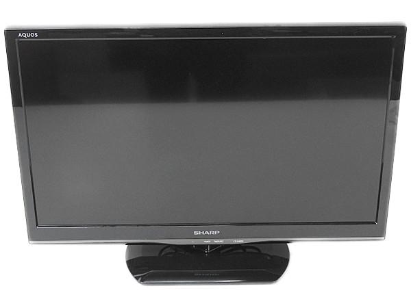 SHARP シャープ AQUOS LC-24K20-B 液晶テレビ 24型 ブラック