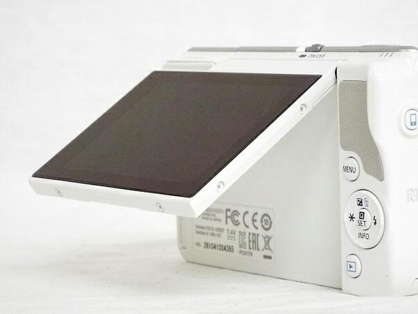Canon キヤノン ミラーレス 一眼 EOS M10 レンズキット ホワイト カメラ EOSM10WH-1545ISSTMLK (5)