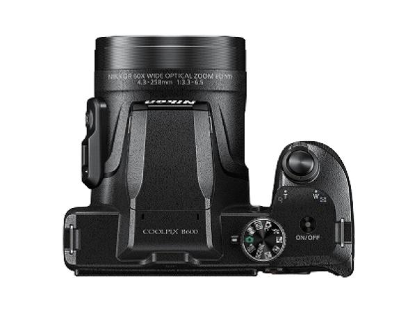 Nikon ニコン デジタルカメラ COOLPIX B600 光学60倍 軽量 クールピクス ブラック B600BK