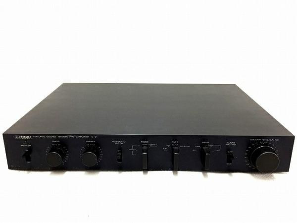 YAMAHA C-2 スーパーローノイズFET コントロール アンプ