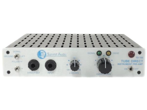 SUMMIT AUDIO サミットオーディオ TD100 音響 楽器 用 プリアンプ