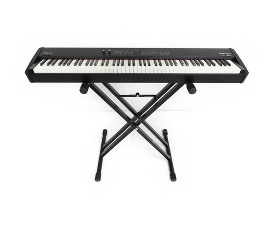 Roland 電子 ピアノ FP-4F 88鍵 鍵盤楽器 キーボード スタンド ペダル付