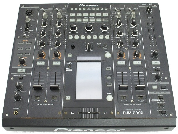 Pioneer パイオニア DJM-2000 5CH DJミキサー
