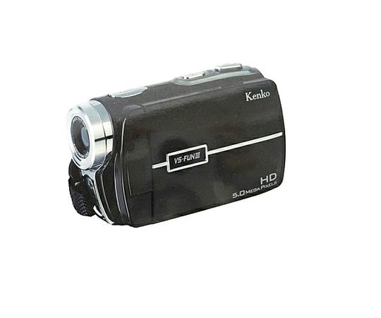 Kenko VS-FUN3 ハイビジョン ビデオカメラ ブラック ケンコー VS-FUN III