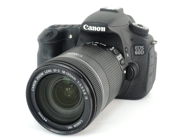 Canon キヤノン 一眼レフ EOS 60D EF-S18-135 IS レンズキット EOS60D18135ISLK カメラ デジタル