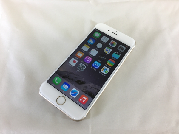 Apple iPhone 6 MG492KH/A 16GB 4.7型 SIMフリー ゴールド