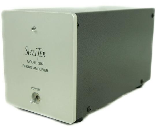 Shelter 216 フォノイコライザー 200V