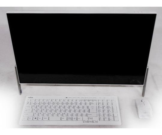 富士通 FUJITSU FMV ESPRIMO FH52/B1 23.8型 一体型パソコン Celeron 1.8GHz 4GB HDD1TB Win10 FMVF52B1W
