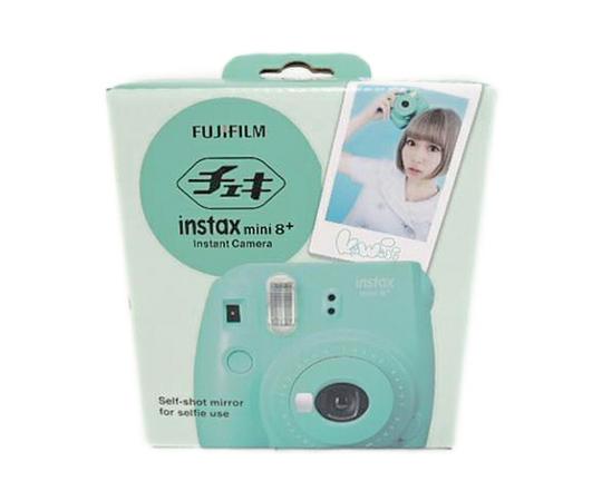 FUJIFILM 富士フィルム チェキ instax mini 8+ インスタント カメラ ミント INS MINI 8P MINT