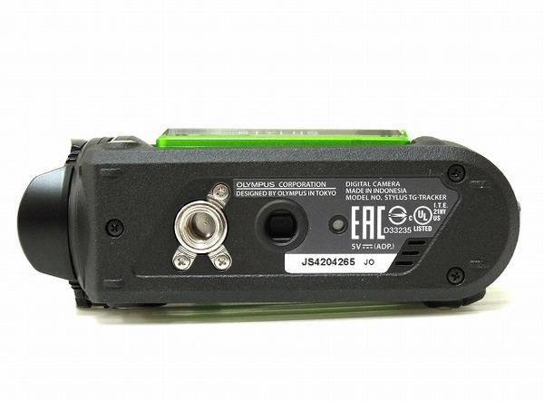 OLYMPUS オリンパス 防水カメラ STYLUS TG-Tracker GRN グリーン フィールドログカメラ デジタルカメラ