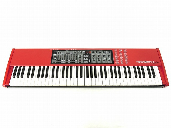 CLAVIA Nord Electro 3 73鍵盤 パフォーマンス キーボード シンセサイザー ノードエレクトロ3 73 ケース付