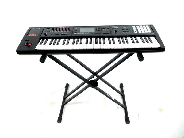Roland ローランド FA-06 シンセサイザー 61鍵盤 スタンドセット デジタル シンセサイザー
