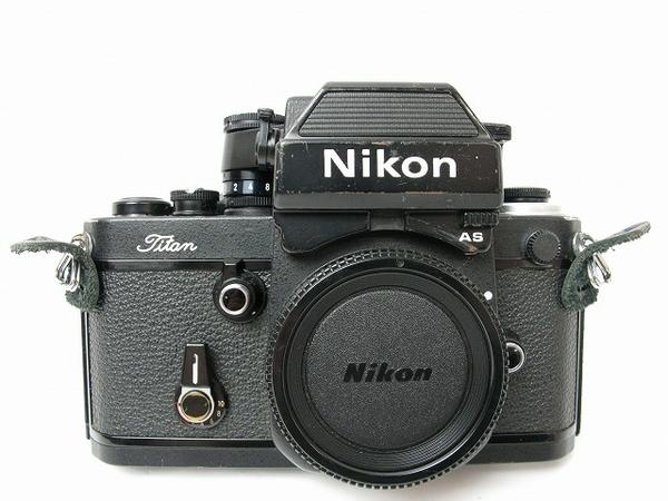 Nikon F2 T AS チタン ブラック 一眼レフカメラ マニュアル フィルム カメラ
