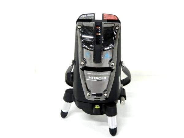 HITACHI 日立工機 レーザー 墨出し器 UG25M3(J) 電動工具 三脚 受光器付き 光学測定器 測定器