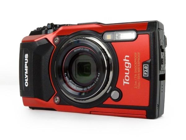 OLYMPUS オリンパス 防水カメラ tough TG-5 一般モデル デジタル カメラ レッド コンデジ デジカメ 4K 1200万画素 防塵 防滴