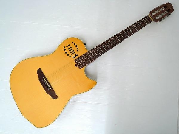 GODIN ゴダン MULTIAC STEEL DUET エレアコ ギター ハードケース付き
