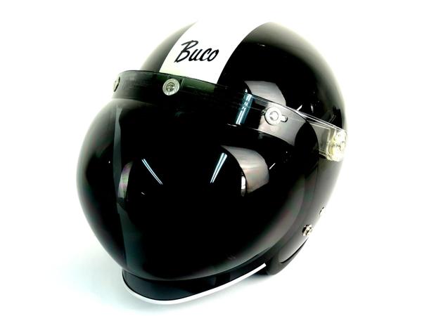 エクストラブコ ヘルメット BUCO EXTRA センターストライプ Lサイズ