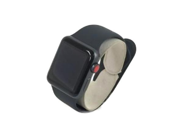Apple アップル Apple Watch Series 3 38mm MTGP2J/A ブラックスポーツバンド スペースグレイ アルミニウム ケース スマートウォッチ
