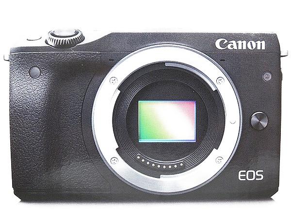 Canon EOS M3 ブラック ダブルズーム EVFキット カメラ ミラーレス一眼 ブラック