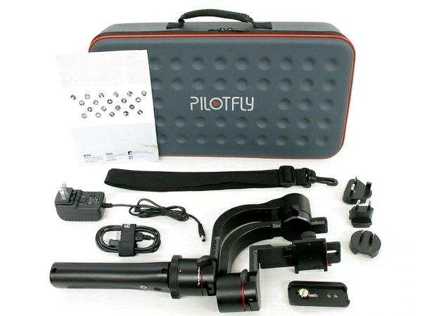 PILOTFLY H2 三軸手持ちジンバル スタビライザー カメラ 周辺機器
