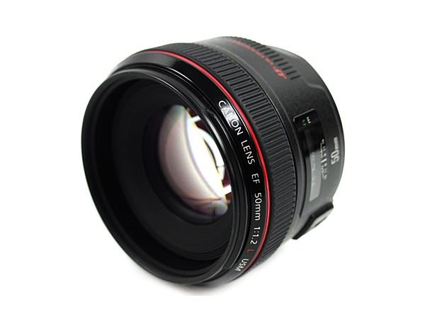 Canon キヤノン EF 50mm F1.2L USM カメラ レンズ 単焦点 大玉