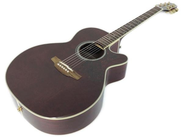 Takamine タカミネ エレアコ DMP551C WR アコースティック ギター ハードケース 付