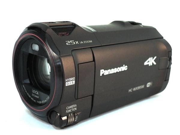 Panasonic パナソニック ビデオカメラ 4K HC-WX995M ワイプ撮り 内蔵メモリ64GB ブラウン