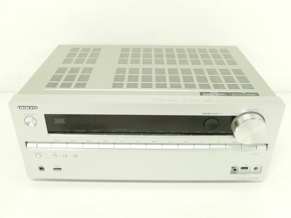 ONKYO オンキヨー 7.1ch対応AVセンター TX-NA609 (S) AVアンプ シルバー