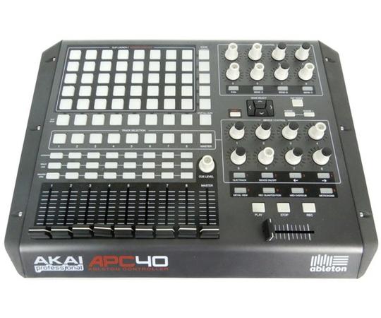 AKAI apc40 MIDI コントローラー DTM 器材