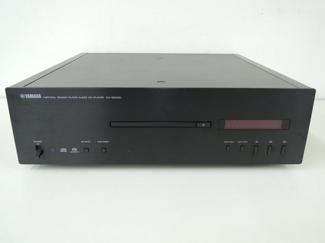 YAMAHA ヤマハ CD-S2000(B) CDプレーヤー ブラック